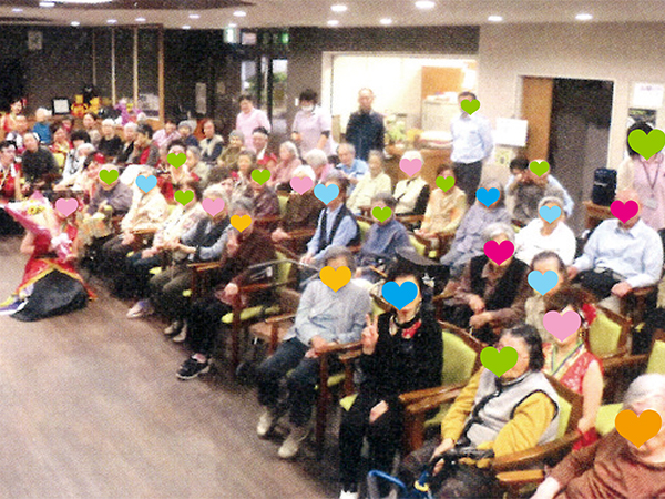 軽費老人ホーム ケアハウス月隈一番館 イベント